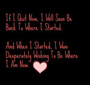 If I quit Now