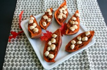 Vegan and Gluten-Free Individual Marshmallow Topped Sweet Potatoes