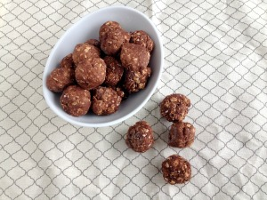 Vegan, Gluten-Free, and Sugar-Free No-Bake Brownie Protein Bites