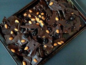 Great Holiday Gifting - Vegan and Gluten-Free Dark Chocolate Bark 3 Ways