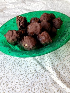 Vegan and Gluten-Free Chocolate Covered Rice Krispie Balls - Great Gift or Perfect Sweet Treat