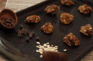 Decedent Vegan and Gluten-Free Dark Chocolate PB Oatmeal Cookies