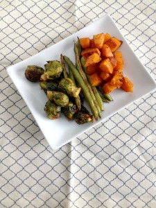 Vegan and Gluten-Free Spicy Roasted Sweet Vegetables
