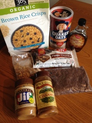 Vegan and Gluten-Free Chocolate Bottomed Granola