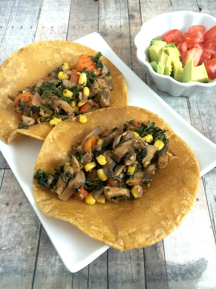 These Vegan and Gluten-Free Chorizo Mushroom Tacos are perfect for Taco Tuesday and Cinco de Mayo