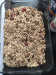 A brunch must - Vegan and Gluten-Free Cran-Chai Oatmeal Casserole