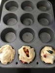 Vegan Blueberry Nectarine Biscuit Cups that are the perfect summer BBQs!