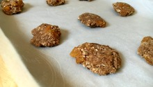 Vegan and Gluten-Free Walnut Butter Oatmeal Apricot Cookies