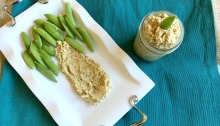 Vegan and Gluten-free Italian Dressing Hummus
