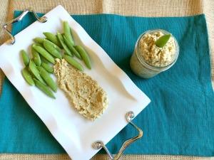 Vegan and Gluten-free Italian Dressing Hummus