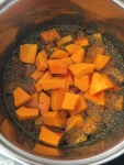 This Soup is Perfect For Fall - Especially the Orange Color!! Vegan and Gluten-Free Butternut Lentil Soup