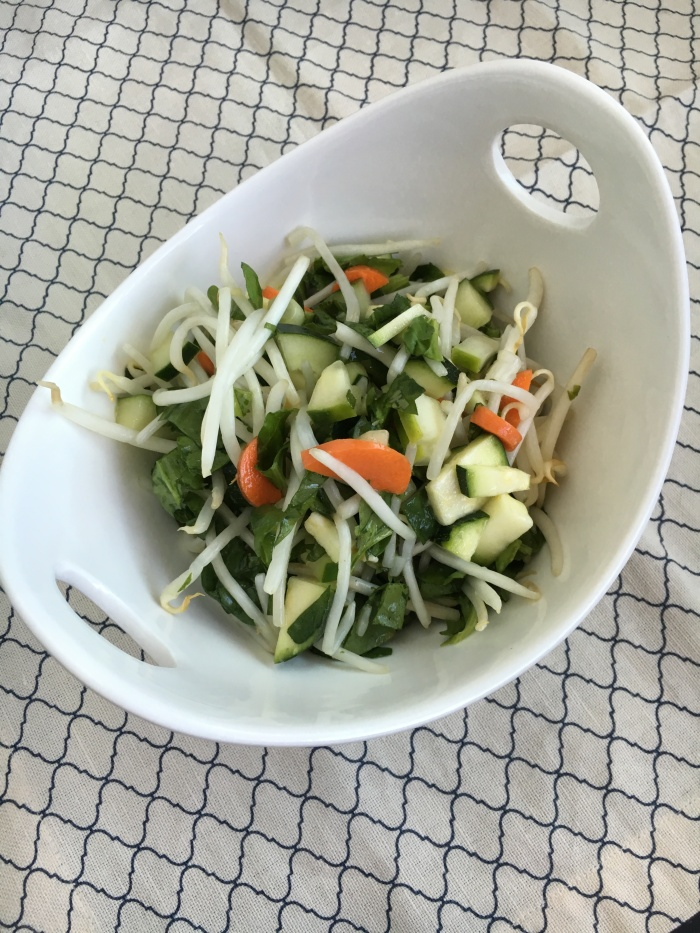 Fully Flavorful Salad - Vegan and Gluten-Free Simple Green Salad