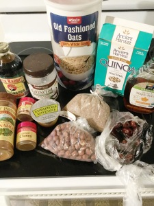 Vegan and Gluten-Free Gingersnap Granola Chunks