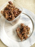 Super Spicy and Delicious - Vegan and Gluten-Free Gingersnap Granola Chunks