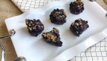 Vegan and Gluten-Free Wild Blueberry Streusel Bars