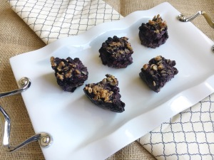 Vegan and Gluten-Free Wild Blueberry Streusel Bars