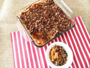 Delicious and Way Better For You Vegan and Gluten-Free Chai Spiced Sweet Potato Casserole