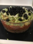 Best Dip Ever - Vegan and Gluten-Free 7 Layer Dip for the Win!