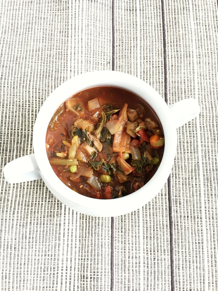 The Comfort Food - Vegan and Gluten-Free Mushroom Stew - Elimination Diet Recipe
