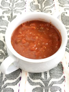 Easy and Comforting - Vegan and Gluten-Free No-Blend Tomato Soup
