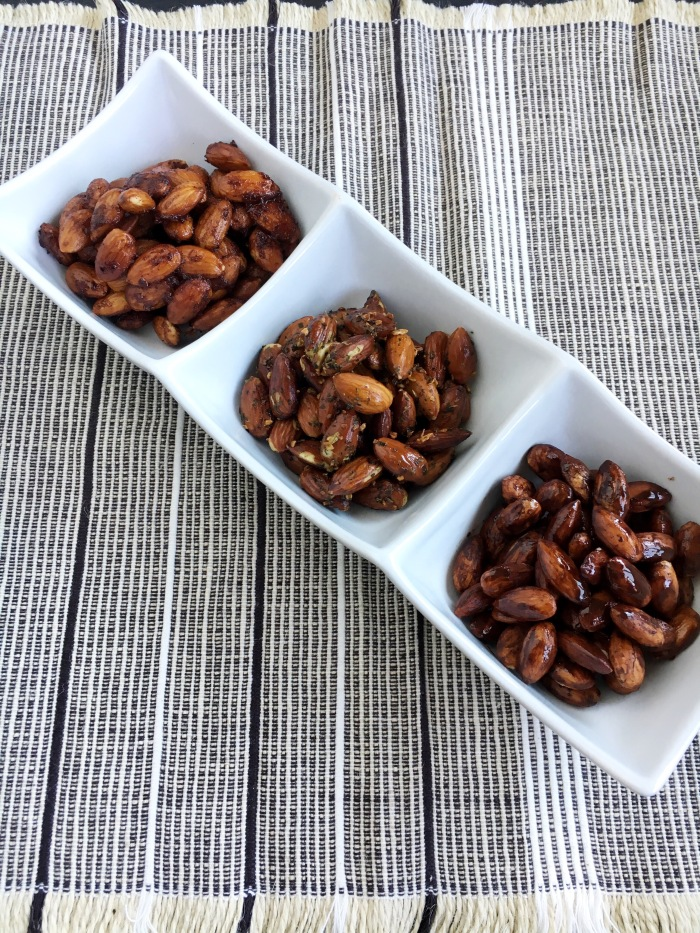 Sugar-Free Roasted Snack Almonds - Elimation Diet and Whole30 Snacks