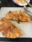 The Perfect Easy Lunch or Dinner - Vegan Pita Quesadillas