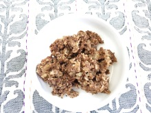 Vegan, Gluten- and Sugar-Free PB Chocolate Protein Baked Oatmeal