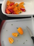 Vegan and Gluten-Free Sabra Hummus Stuffed Taco Mini Peppers